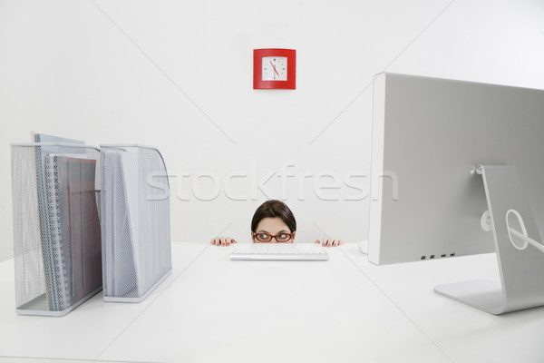 Stock photo: business and work