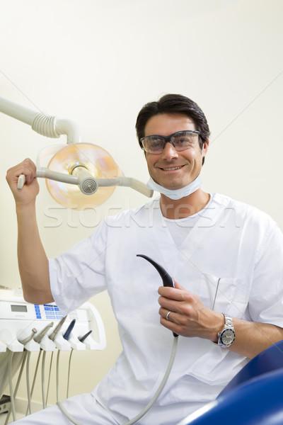 Stock photo: dentist