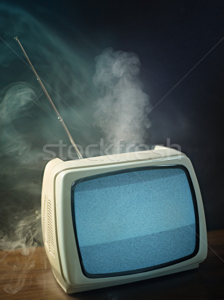vintage television Stock photo © diego_cervo