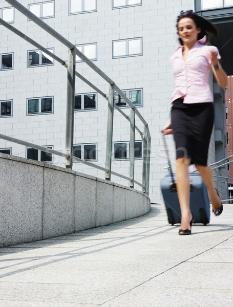 businesswoman in a hurry Stock photo © diego_cervo
