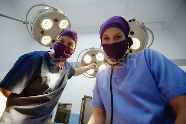 Stockfoto: Operatie · kamer · kliniek · medische · personeel · chirurgie