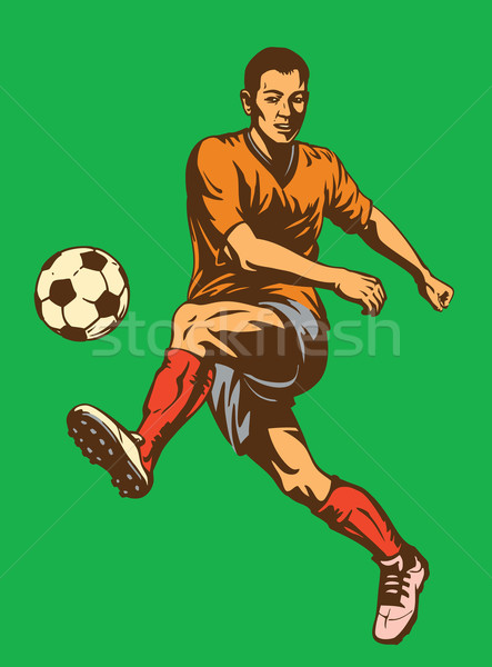 Soccer Football Player Stock photo © digiselector