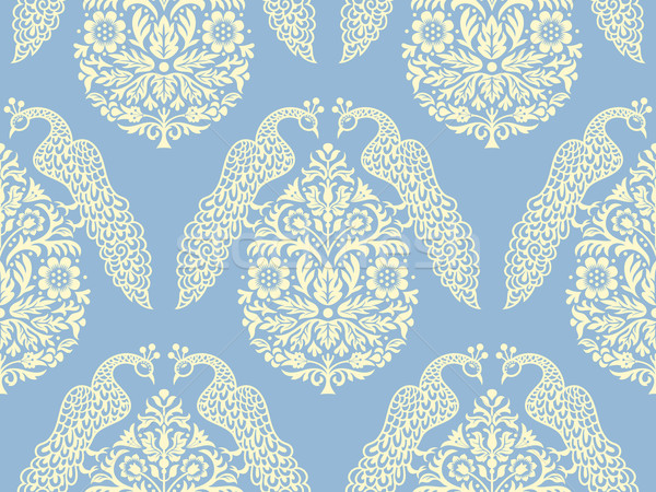Aves árvore textura projeto jardim Foto stock © digiselector