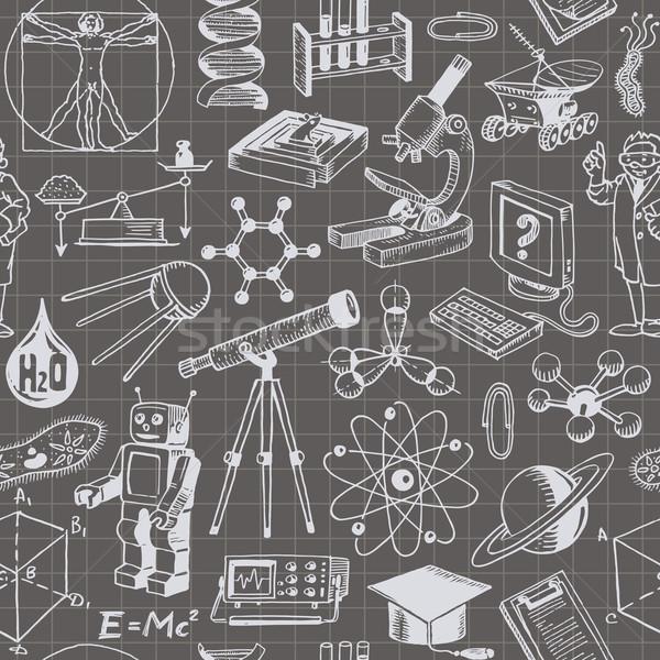 科学 教育 コンピュータ 水 背景 ストックフォト © digiselector