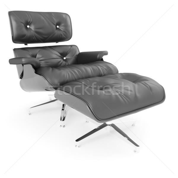 3D braccio sedia studio muro Foto d'archivio © digitalgenetics