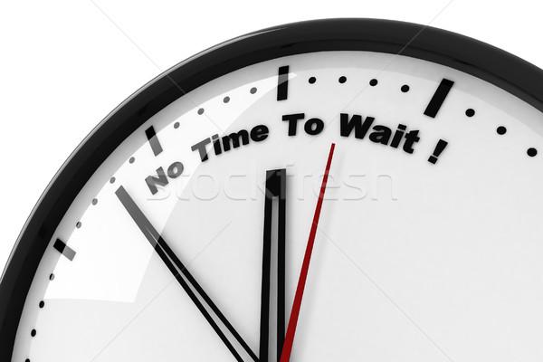 Geen beschrijving vergadering Maakt een reservekopie slaap horloge Stockfoto © digitalgenetics