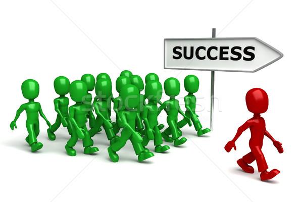 Keine Beschreibung Geld Mann Zeichen grünen Stock foto © digitalgenetics
