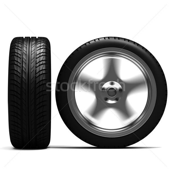Geen beschrijving auto achtergrond zwarte staal Stockfoto © digitalgenetics