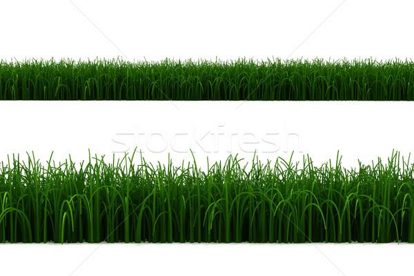 3D trawy line niebo tekstury chmury Zdjęcia stock © digitalgenetics