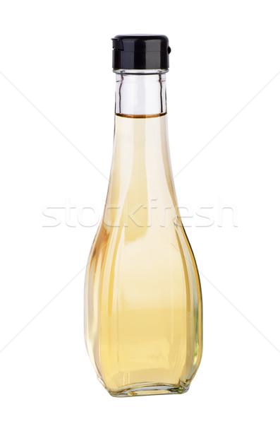 Fehér balzsam alma ecet izolált Stock fotó © digitalr