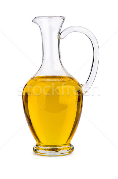 Sunflower seed oil in glass decanter Stock photo © digitalr