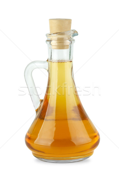 Decanter with apple vinegar Stock photo © digitalr