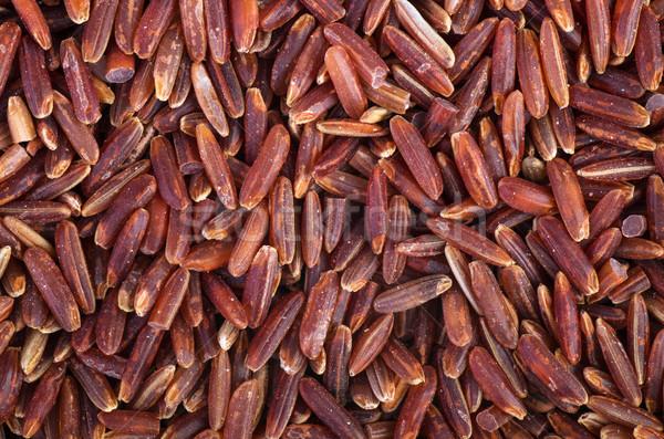 赤 コメ テクスチャ 食品 シード 穀物 ストックフォト © digitalr