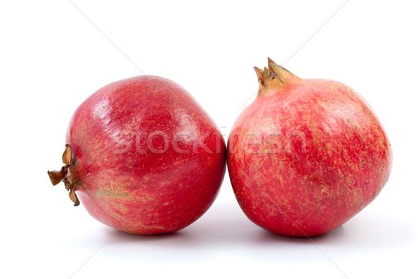 Stock photo: Two pomegranates