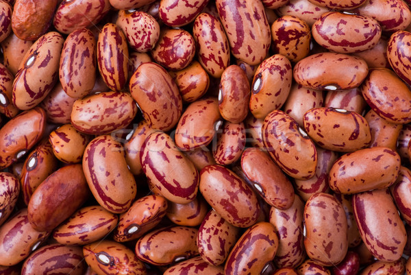 Spotty red haricot beans Stock photo © digitalr