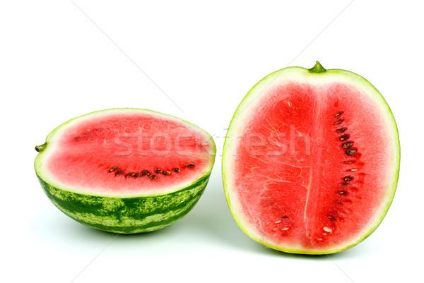 Two halves of watermelon Stock photo © digitalr