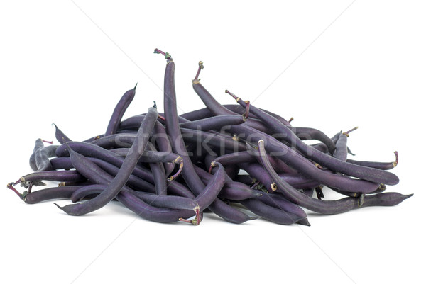 Purple Wax Snap Beans Stock photo © digitalr