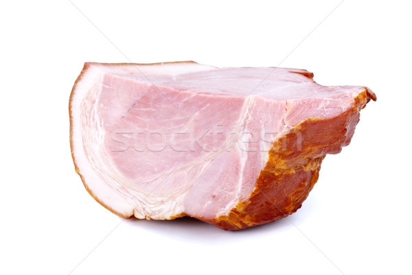 Piece of gammon Stock photo © digitalr