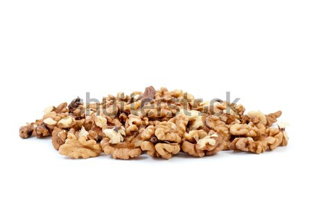 Small pile of walnuts kernels Stock photo © digitalr