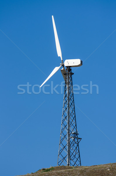 Wind turbine tower Stock photo © digitalr