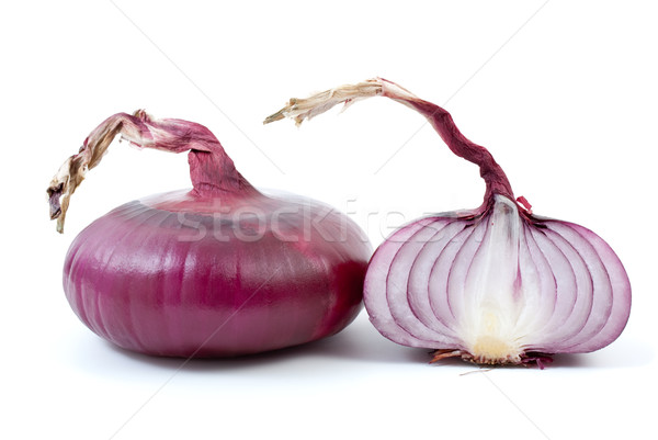 Purple onion and half Stock photo © digitalr