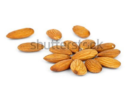 Few almonds in the shape of flower Stock photo © digitalr