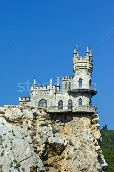 Swallows nest castle.  Stock photo © digitalr