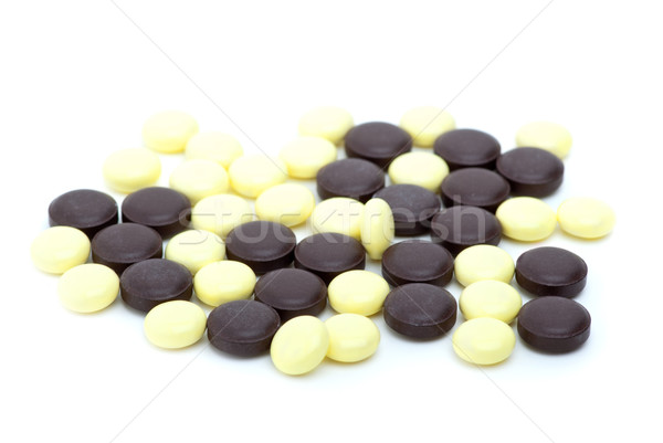 Some yellow and brown tablets Stock photo © digitalr