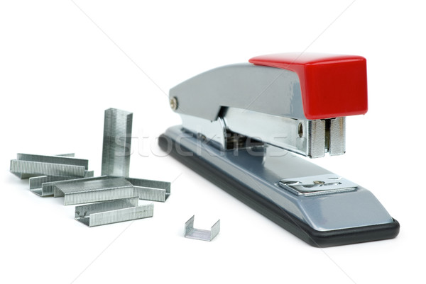 Staples and stapler Stock photo © digitalr
