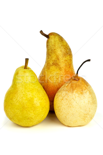 Three pears of different breads Stock photo © digitalr