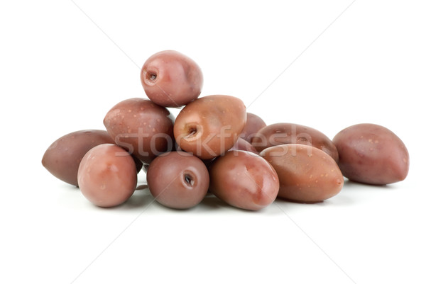 Few purple 'Kalamata' olives Stock photo © digitalr