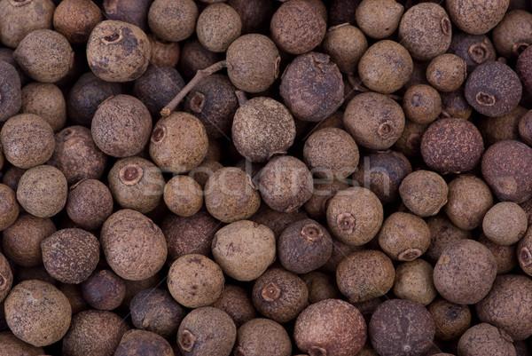 Spices: background of allspice Stock photo © digitalr