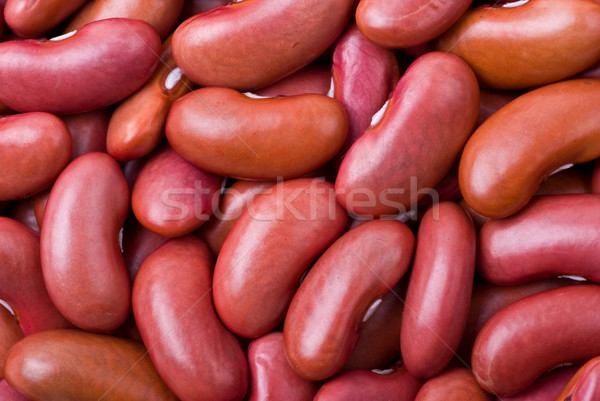 Red haricot beans macro Stock photo © digitalr
