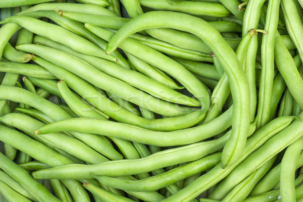 Abstract background: green wax beans Stock photo © digitalr
