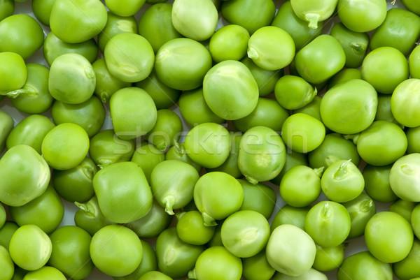 Pile of green peas Stock photo © digitalr