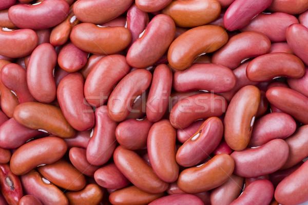 Red haricot beans  Stock photo © digitalr