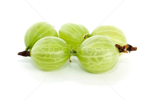 Primo piano shot pochi isolato bianco frutta Foto d'archivio © digitalr
