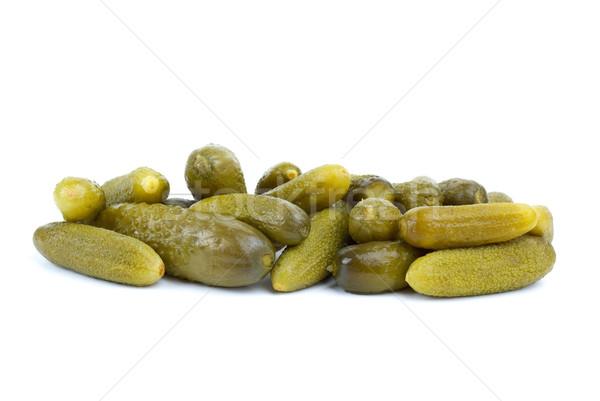 Some marinated cucumbers Stock photo © digitalr