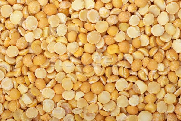 Background of split dried pea  Stock photo © digitalr