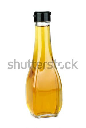 Glass bottle with apple vinegar Stock photo © digitalr