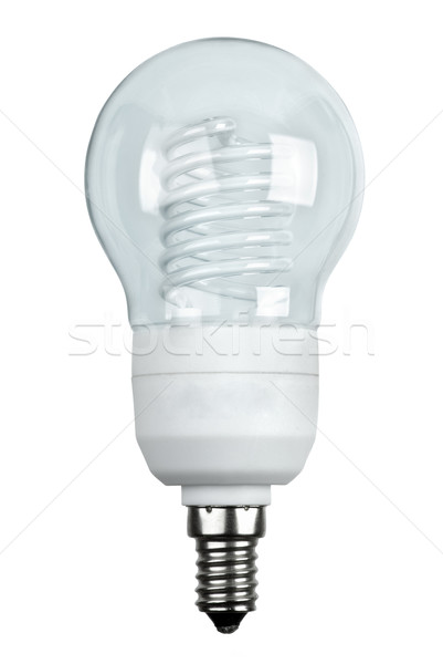 'Classic-styled' energy-saving fluorescent lamp Stock photo © digitalr