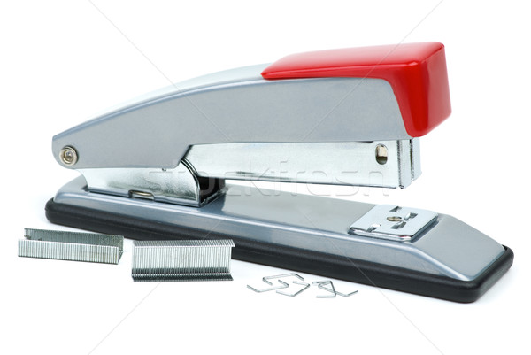 Stapler and staples Stock photo © digitalr