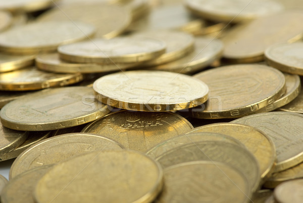Pile of coins Stock photo © digitalr