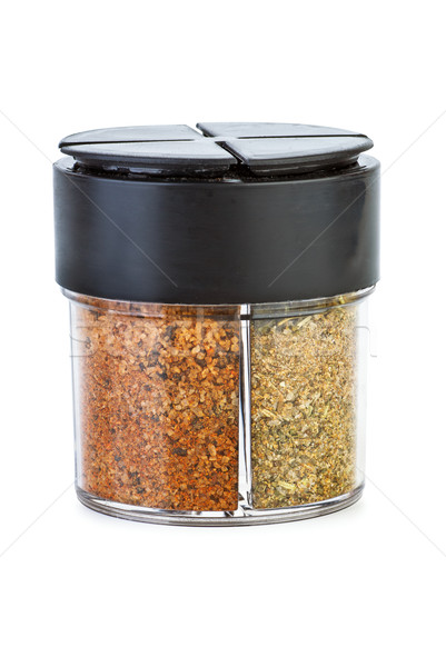 Glass jar with mix of spices Stock photo © digitalr