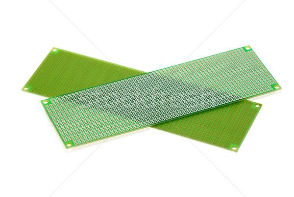 Deux isolé blanche fond vert Photo stock © digitalr