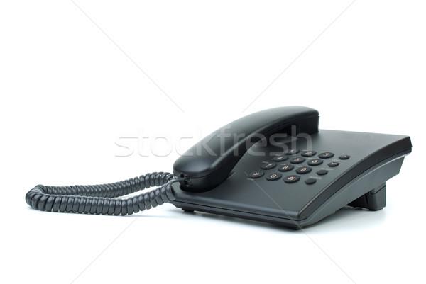Modern black phone Stock photo © digitalr