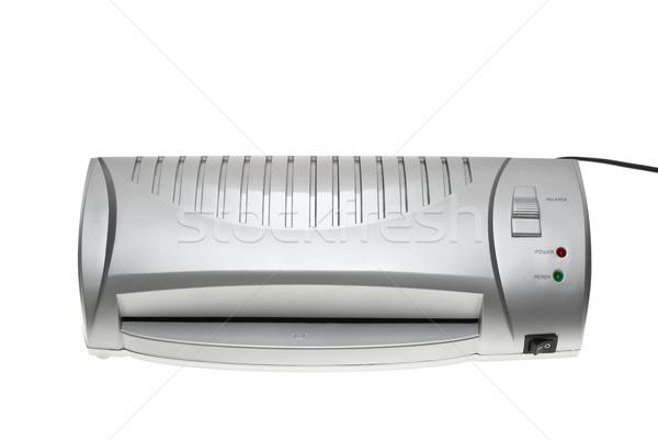 Ucuz gümüş yalıtılmış beyaz ofis Stok fotoğraf © digitalr
