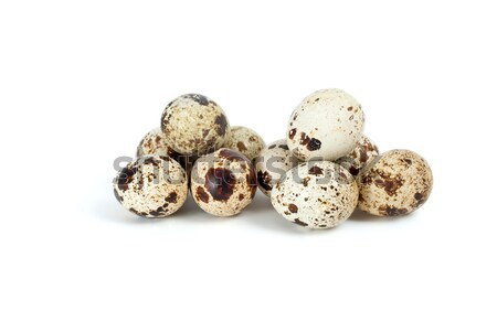 Few fresh quail eggs Stock photo © digitalr