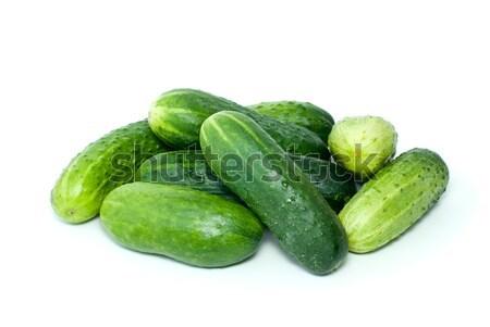 Pile of cucumbers Stock photo © digitalr