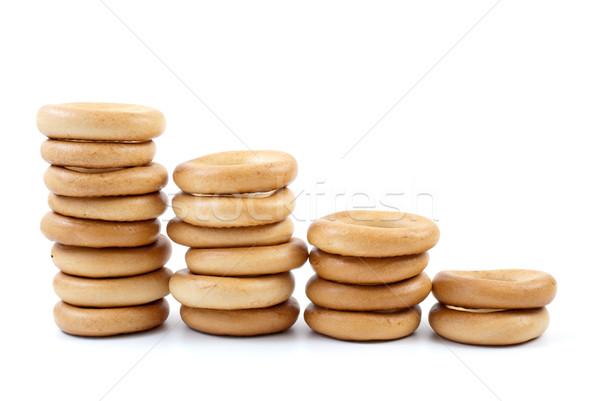 Bread-rings columns Stock photo © digitalr